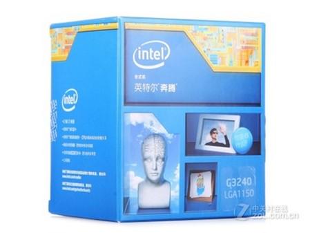 7低功耗双核重庆奔腾G3240 CPU售370元
