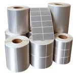 金富州PVC哑银标签防水 50*30 两列3K特价
