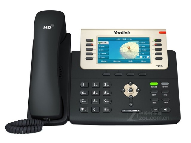 亿联千兆彩屏SIP话机SIP-T29G特价1352