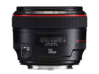 佳能EF 50mm f/1.2L USM津门特价8200元
