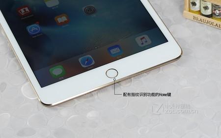 苹果 iPad mini 4金色 Home键图