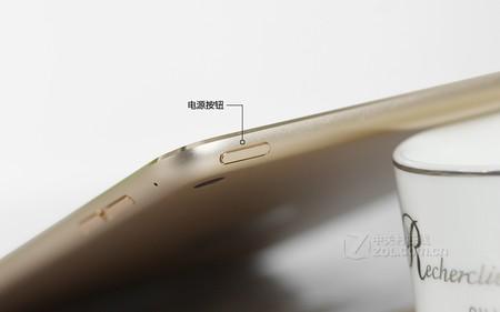 苹果 iPad mini 4金色 电源键图