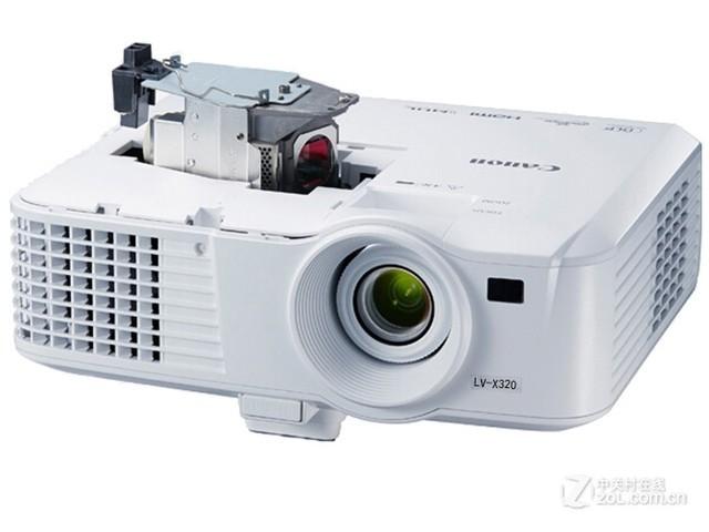 高亮度好维护 佳能X320投影机济南促销