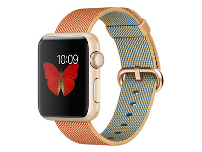 苹果手表运动版42mm金粉砂 报价3000元