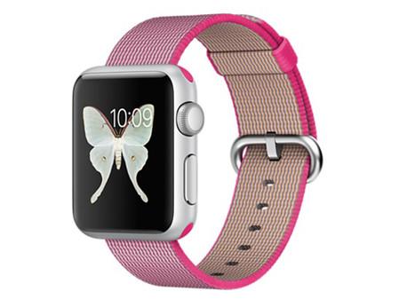 3 42mm运动款 Apple Watch Sport粉仅2050元