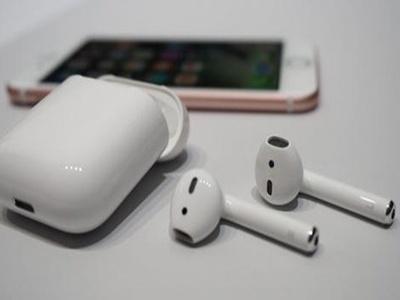 0內建助听器支持功能苹果原装蓝牙耳机