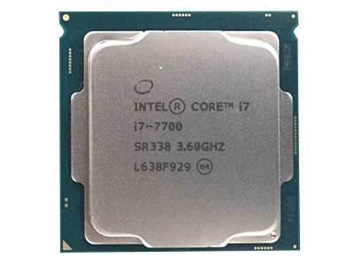 intel酷睿i7 7700处理器东莞售5399元