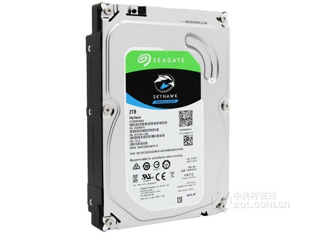 希捷2TB 5900转 64MB监控硬盘天津327元