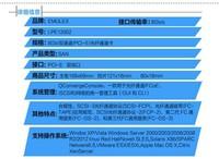 Emulex LPE12002双口8G HBA卡仅1000元