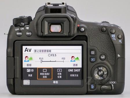 便携机身 佳能77D相机合肥报价4550元