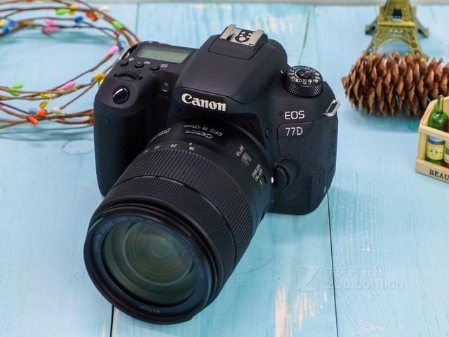 佳能EOS 77D套机(18-135mm)促销6599元