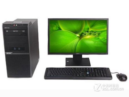 0商用办公台式机 Acer D430仅售2850元