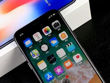 iphone x港版 64G 售价6980元 可分期付款