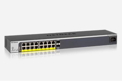 独立智能 网件GS418TPP交换机济南促销