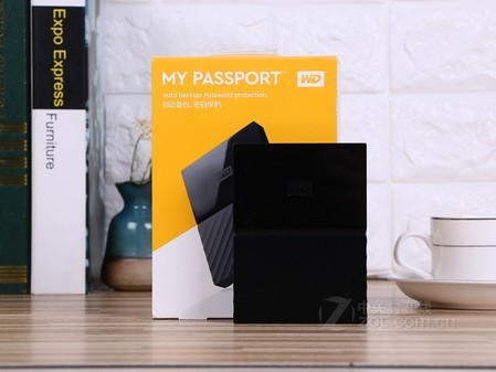西部数据炫彩My Passport 1TB太原盛隆达359元促