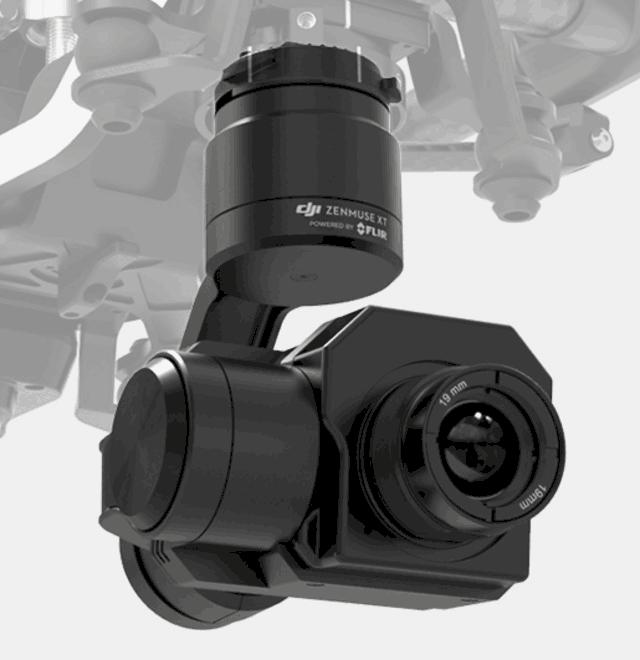 大疆禅思XT热成像相机 济南行业应用
