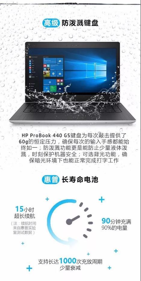 HP ProBook 440 G5 商用不二之选笔记本