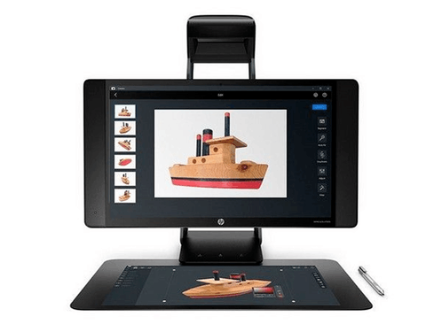 3D扫描建模 新一代HP Sprout Pro G2 一体机49999元