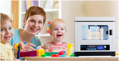 开启学前教育新模式 极光尔沃3D打印机走进幼儿园