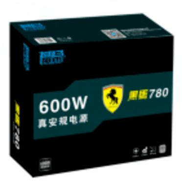 额定功率600W 超频三黑马S780电源促销