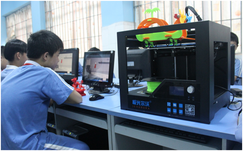 3D打印互动体验式教学 极光尔沃让课堂更有温度