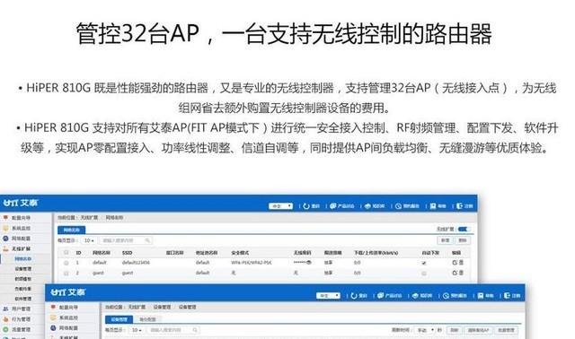 艾泰810G企业级全千兆VPN报价800元
