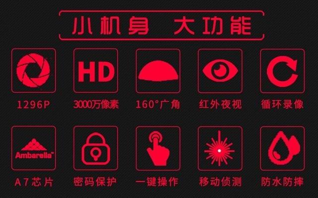 高清红外夜视 惠普DSJ-A5记录仪1299元