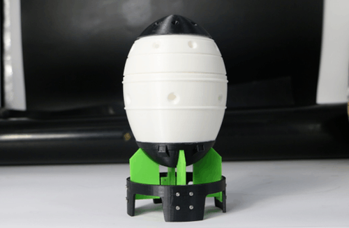炸上天 米大叔3D打印胖子核弹 尽显炸逼本色