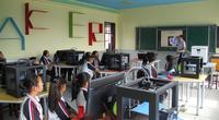 极光尔沃走进3D打印机智慧教育课堂 为将来做准备
