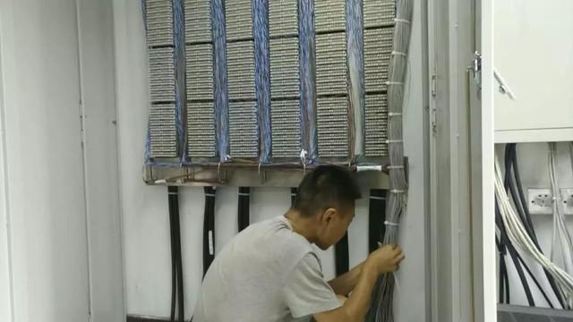 安装日记—天津外轮代理有限公司机房整改
