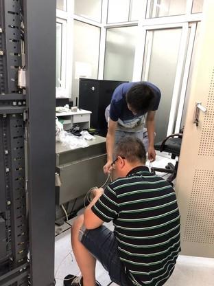 安装日记——申瓯助力天津达沃斯论坛