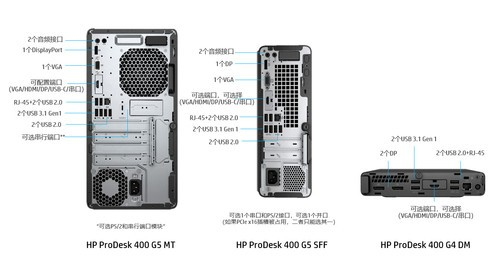 惠普ProDesk400 G5 MT台式电脑深圳经销商售2399元