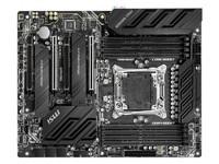微星 X299 PRO高新能主板热销价2299