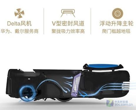 全自动家用吸尘器 格兰博CH350D-G促销中