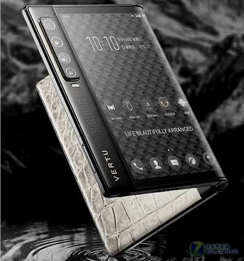 5G流行折叠 长沙VERTU纬图手机仅29800元