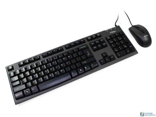 终极性价比 富勒L611键盘鼠标套装仅58元