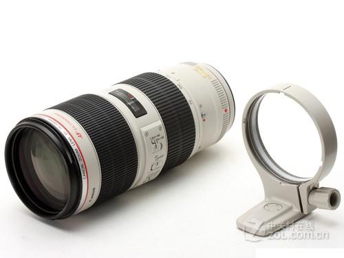 7操作灵活 佳能70-200 f/2.8L售10500元