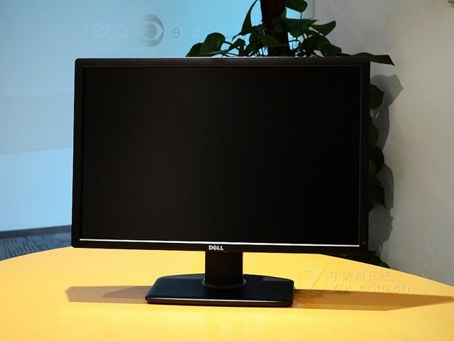 戴尔 U2412M黑色 外观图