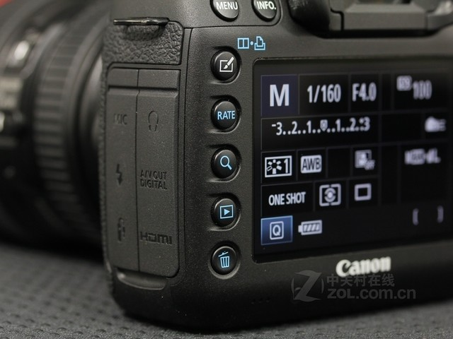 佳能 5D Mark III 功能按钮