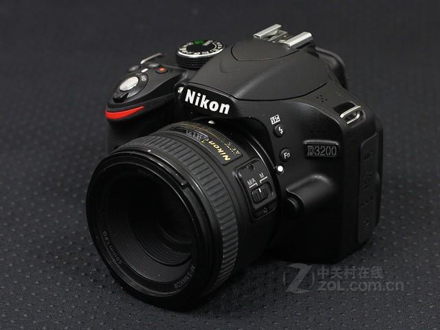 尼康 D3200黑色 外观图