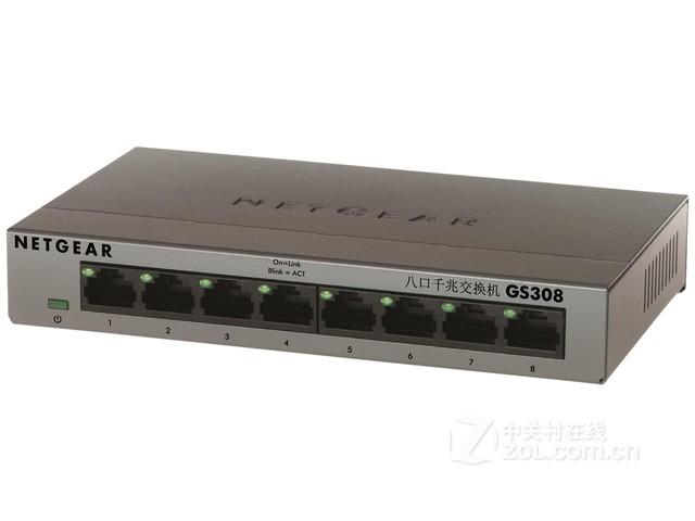 NETGEAR GS308交换机济南促销180元