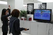 体验同方电脑的体感游戏