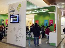 戴尔产品技术体验区