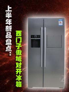 西门子傲域对开冰箱