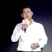 东芝视频产品有限公司商品企划部部长 郭玉林 先生