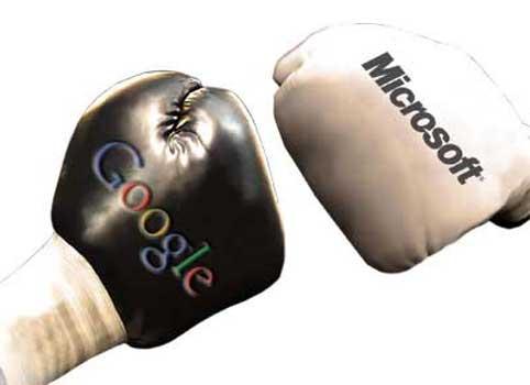 微软谷歌各执一词 就联合竞购打口水战