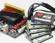 拖垮APU!插满六块硬盘性能实测