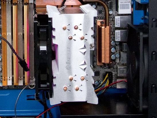 CPU下置