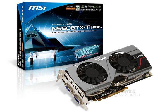 微星N560GTX-Ti Hawk