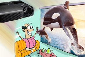立体世界家中享 3D高清投影机新品推荐